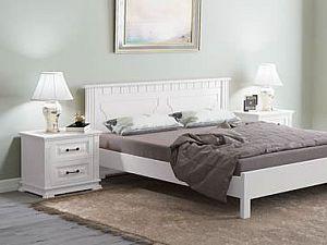 Кровать Райтон Венеция-тахта сосна (белый, слоновая кость)