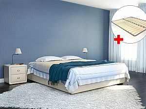 Кровать Perrino Аврора с решеткой (промо)