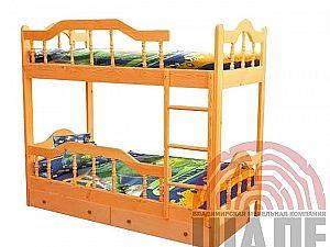 Кровать Шале Диана 3 двухъярусная