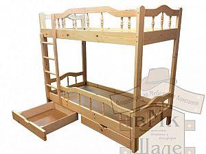 Кровать Шале Джерри двухъярусная