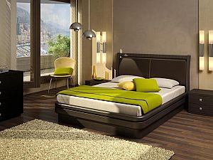 Кровать Торис Эва E11 (Стино) экокожа