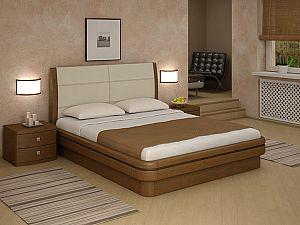 Кровать Торис Эва E1 (Лило) экокожа