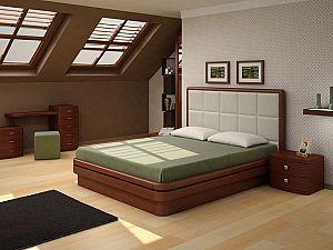 Кровать Торис Эва L2 (Виваре) кожа