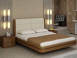 Кровать Торис Ита E1 (Лило) экокожа