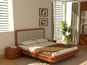 Кровать Торис Ита L2 (Виваре) кожа