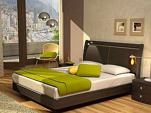Кровать Торис Мати E11 (Стино) экокожа