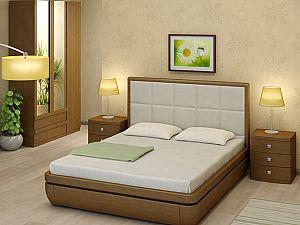 Кровать Торис Тау 1 L2 (Виваре) кожа
