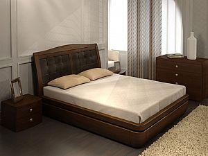 Кровать Торис Тау 1 R2 (Палау) кожа