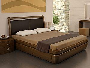Кровать Торис Тау 2 L11 (Стино) кожа
