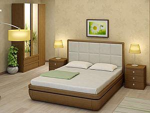 Кровать Торис Тау 2 L2 (Виваре) кожа