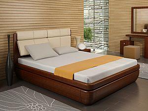 Кровать Торис Тау 2 R1 (Сонеро) кожа