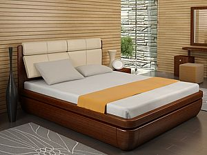 Кровать Торис Тау-классик R1 (Сонеро) кожа