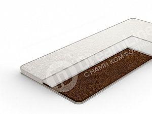 Наматрасник DreamLine Кокос 2 см + Пенополиуретан 2 см