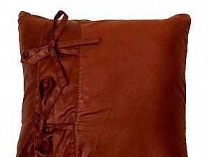 Подушка Altro Баскотт декор коричневый
