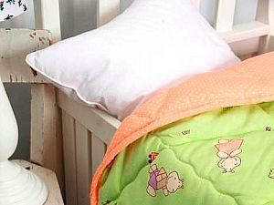 Одеяло Altro Kids Тоша и Моша зеленое