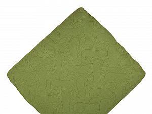 Покрывало Arloni Листики, зеленый