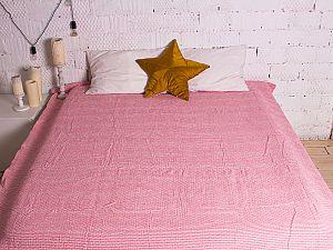 Покрывало Arloni Линии, розовый