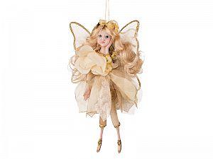 Интерьерная кукла Фея золотая, арт. 856-003