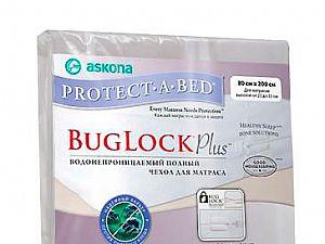 Водонепроницаемый чехол Аскона Protect-a-Bed Bug Lock Plus