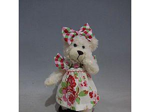 Интерьерная кукла Медведь C21-108128
