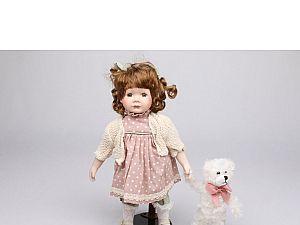 Интерьерная кукла Девочка в платье C21-148612