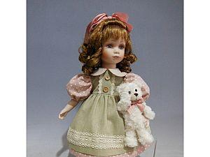 Интерьерная кукла Девочка в платье C21-188518