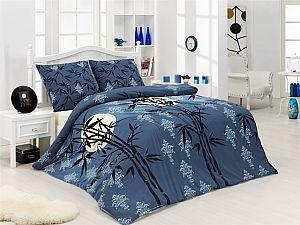 Постельное белье Acelya Bamboo Tree, голубой
