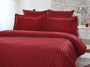 Постельное белье Karna Perla, бордовый