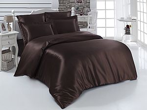 Постельное белье Karna Arin, коричневый