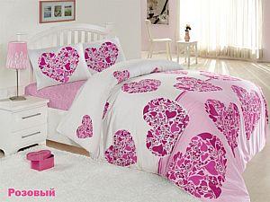 Постельное белье Altinbasak Candy, розовый