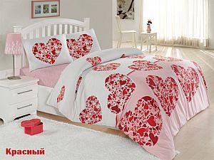 Постельное белье Altinbasak Candy, красный
