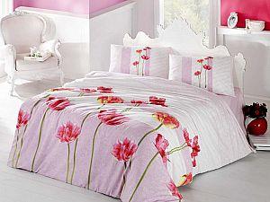 Постельное белье Altinbasak Sare, розовый