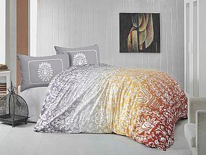 Постельное белье Altinbasak Vizyon, оранжевый