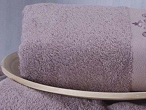 Полотенце Karna Velsen 50х90 см, грязно-розовое