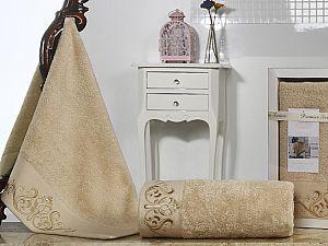 Комплект полотенец Karna Velsen, бежевый