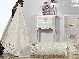 Комплект полотенец Karna Velsen, кремовый