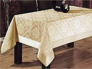 Скатерть Verolli ED301 160х220 см, кремовая