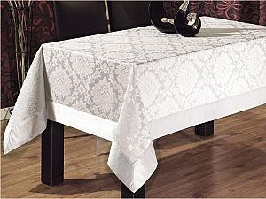 Скатерть Verolli ED301 160х220 см, белая