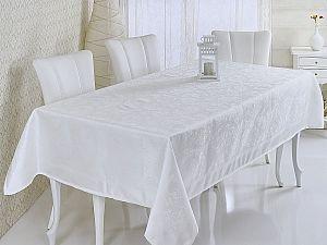 Скатерть Verolli Mozaik 160х220 см, белая