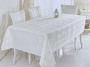 Скатерть Verolli Buta Royal 160х220 см, кремовая
