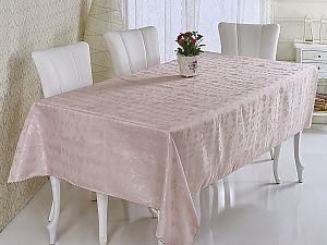 Скатерть Verolli Sakura 160х220 см, розовая