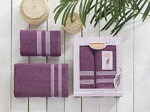 Комплект полотенец Karna Petek, светло-лаванда