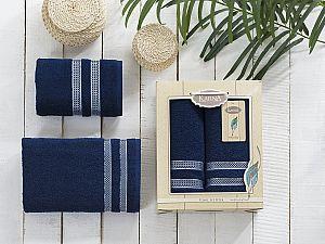 Комплект полотенец Karna Petek, синий