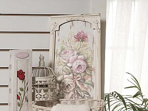 Полотенце Karna Ange 40х80 см, кремовое