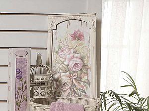Полотенце Karna Ange 40х80 см, грязно-розовое