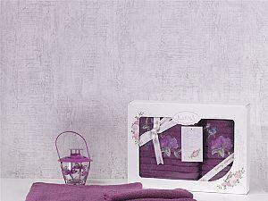 Комплект полотенец Karna Este, светло-лаванда