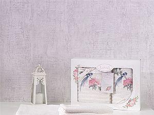 Комплект полотенец Karna Este, кремовый