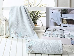 Комплект полотенец Karna Lavore, ментол