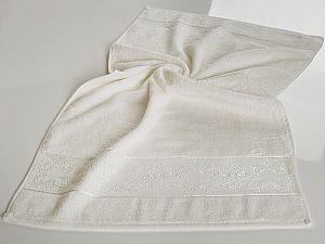 Полотенце Karna Pandora-1 50х90 см, кремовое