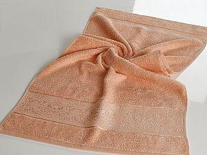 Полотенце Karna Pandora-1 70х140 см, абрикосовое